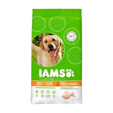 Iams Dog Adult Weight Control Rich in Chicken