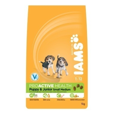 Iams Dog Puppy & Junior Small/Medium Rich in Chicken