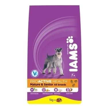 Iams Dog Senior & Mature Rich in Chicken