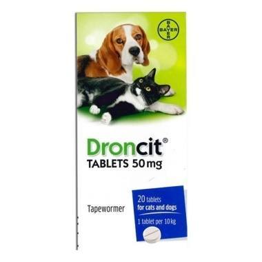 Droncit Tapeworm Tablets