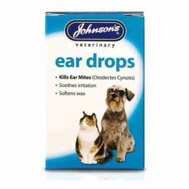 Johnsons Cat/Dog Ear Drops