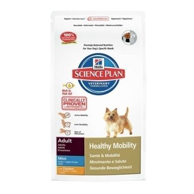 Hills Science Plan Canine Adult Healthy Mobility Mini Chicken