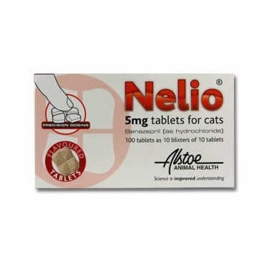 Nelio Flavoured Tablets for Cats 5mg