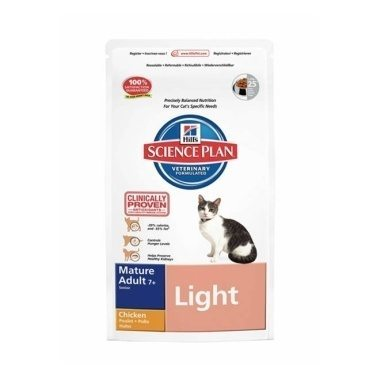 Hills Science Plan Feline Mature Adult/Senior 7+ Light Chicken
