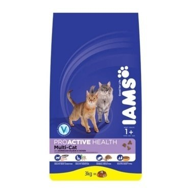 Iams Cat (Multi-Cat) Chicken & Salmon