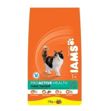 Iams Cat Hairball Control Rich in Chicken