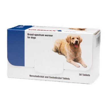 Milbemax Dog Wormer (Adult)