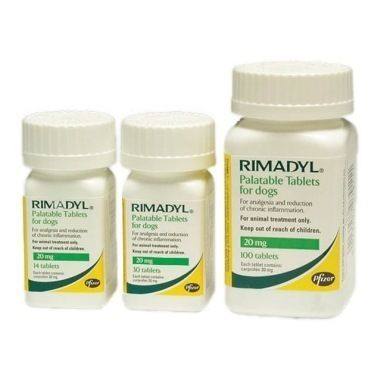Rimadyl Palatable Tablets 20mg