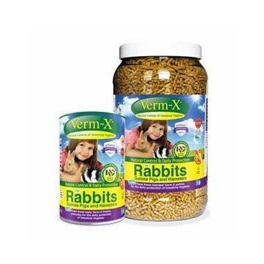 Verm-X for Rabbits Guinea Pigs Hamsters all Rodents and Ferrets