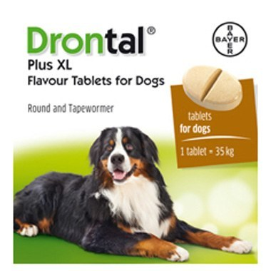 Drontal Plus XL Flavour Wormer (Single & Multibuy)