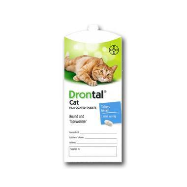 Drontal Cat Wormer (Single & Multibuy)