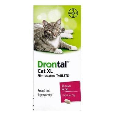 Drontal Cat XL Wormer (Single & Multibuy)
