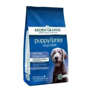 Arden Grange Puppy/Junior Large Breed Chicken & Rice