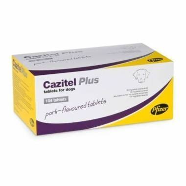 Cazitel Plus Tablets for Dogs