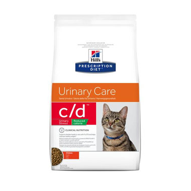 Hills Prescription Diet C/D Feline Urinary Stress Reduced Calorie Chicken