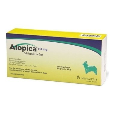 Atopica 10mg (Ten milligram)