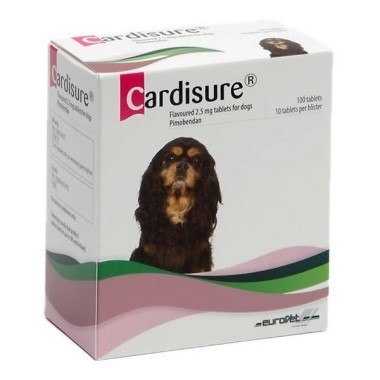 Cardisure Flavoured Tablets for Dogs 2.5mg