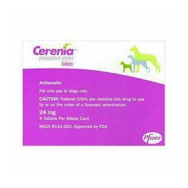 Cerenia Tablets for Dogs 24mg