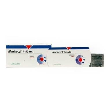 Marbocyl P Tablets 80mg