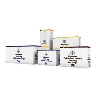 Nisamox Palatable Tablets 250mg