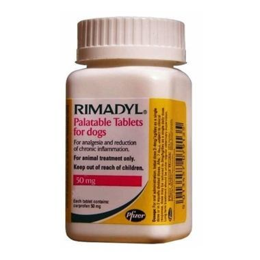 Rimadyl Palatable Tablets 50mg