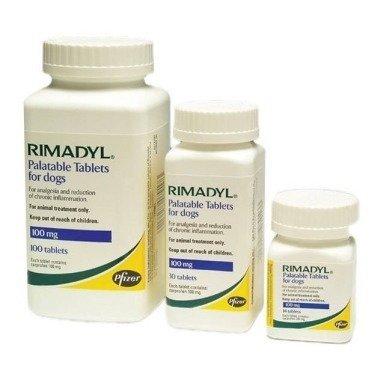 Rimadyl Palatable Tablets 100mg