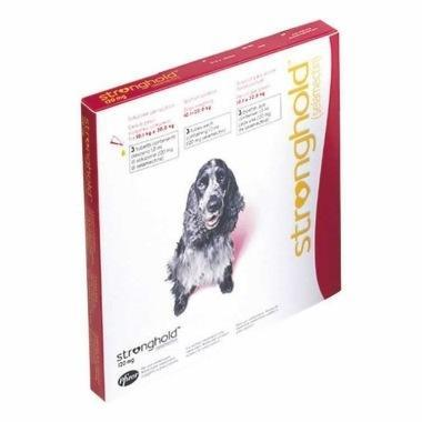 Stronghold Spot On Medium Dog 120mg (10.1-20kg)