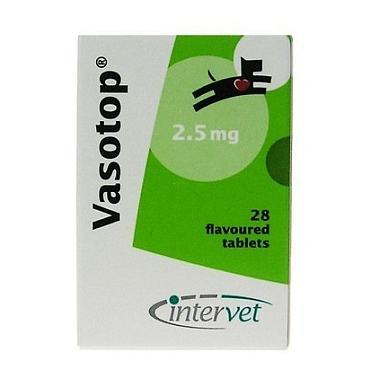 Vasotop Tablets 2.5mg