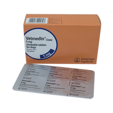 Vetmedin Chewable Tablets 5mg