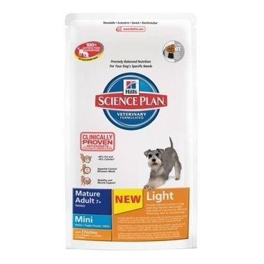 Hill's Science Plan Canine Mature Adult 7+ Mini Light Chicken