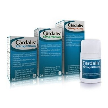 5mg/40mg Cardalis Medium Dog Tablets
