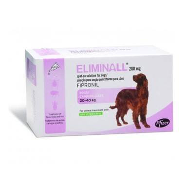 Eliminall Spot-on Large Dog 20-40kg