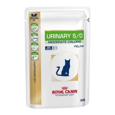 Royal Canin Veterinary Diet Urinary Moderate Calorie Feline Wet