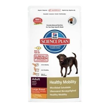 Hills Science Plan Canine Adult Healthy Mobility Large Breed Chicken