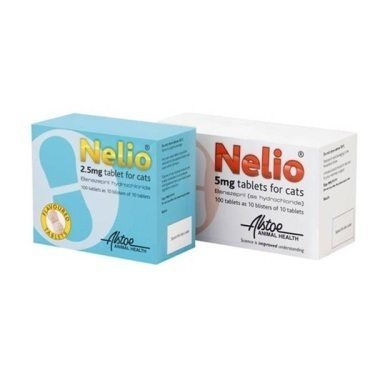 Nelio Flavoured Tablets for Cats 2.5mg