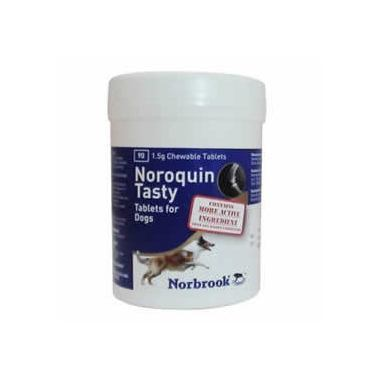 Noroquin Tasty Tablets 1.5g Medium dogs