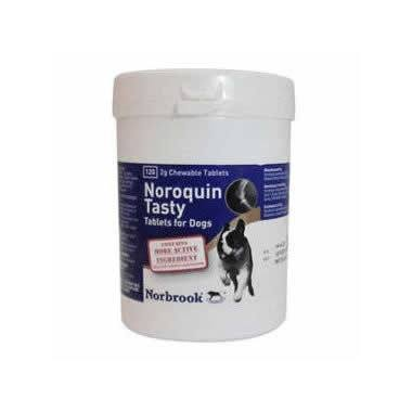 Noroquin Tasty Tablets 2g Large Dogs