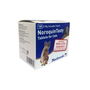 Noroquin Tasty Tablets 0.95g Cats