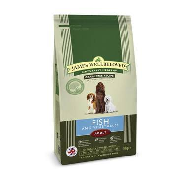 James Wellbeloved Adult Dog Fish & Vegetable Kibble (Cereal Free)