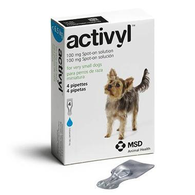Activyl Spot On Toy Dog (Under 6.5kg)
