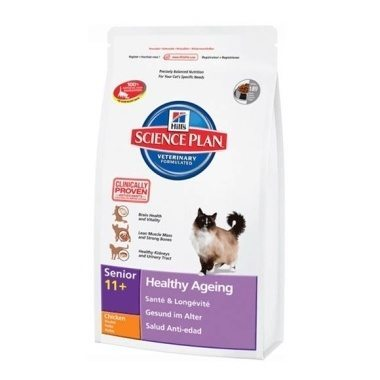 Hill's Science Plan Feline Senior 11+ Healthy Ageing (Dry)
