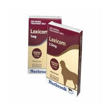 Loxicom Chewable Tablets 2.5mg