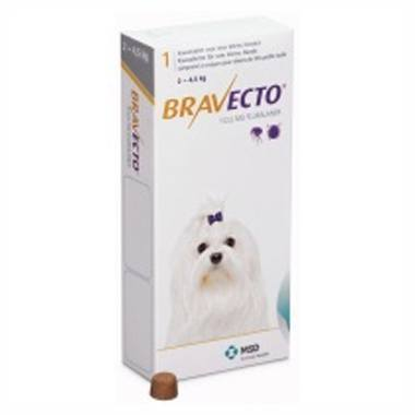 Bravecto Toy Dog (2 - 4.5kg)
