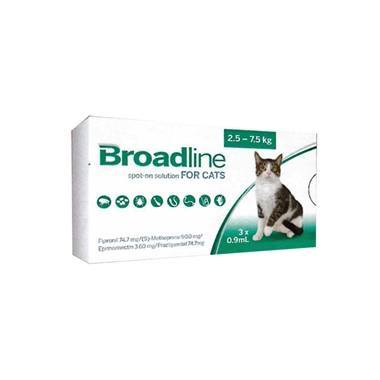Broadline For Small Cats (less Than 2.5kg)