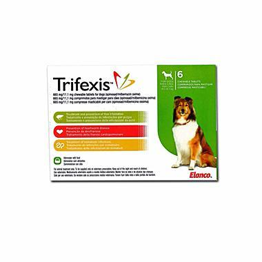 Trifexis Chewable Tablets 665mg/11.1mg
