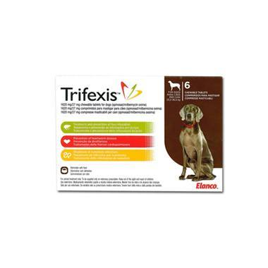Trifexis Chewable Tablets 1620mg/27mg