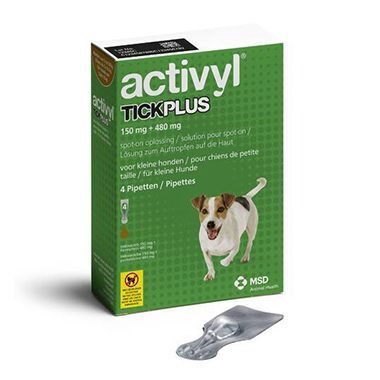 Activyl TickPlus Small Dog (5-10kg)