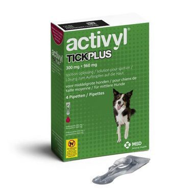 Activyl TickPlus Medium Dog (10-20kg)