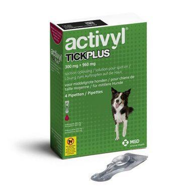 Activyl TickPlus Medium Dog (10-20kg)