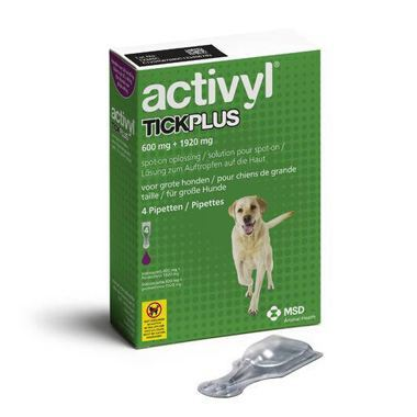 Activyl TickPlus Large Dog (20-40kg)